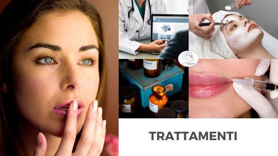 trattamenti di dermatologia e medicina estetica